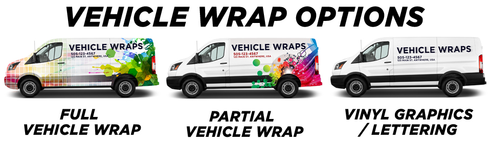 Crystal Beach Vehicle Wraps vehicle wrap options