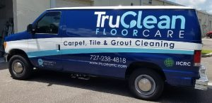 Tarpon Springs Vinyl Printing Vehicle Wrap Tru Clean 300x146
