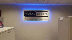 Tampa Lighted Signs Royal Cyber Indoor Lobby Sign Backlit 300x169